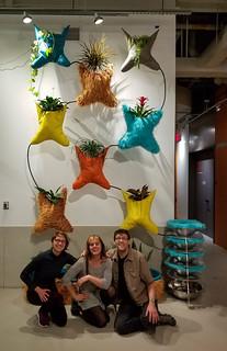 Machine Garden, Amy, Rachel, Ken