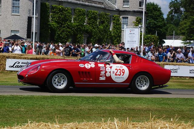 Ferrari 250 GTO-64 3.0-litre V8 1964, 70 Years of Ferrari Sportscars, Goodwood Festival of Speed (3)