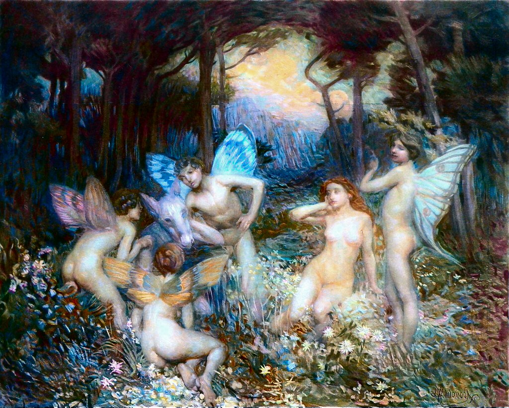 Midsummer night dream nude