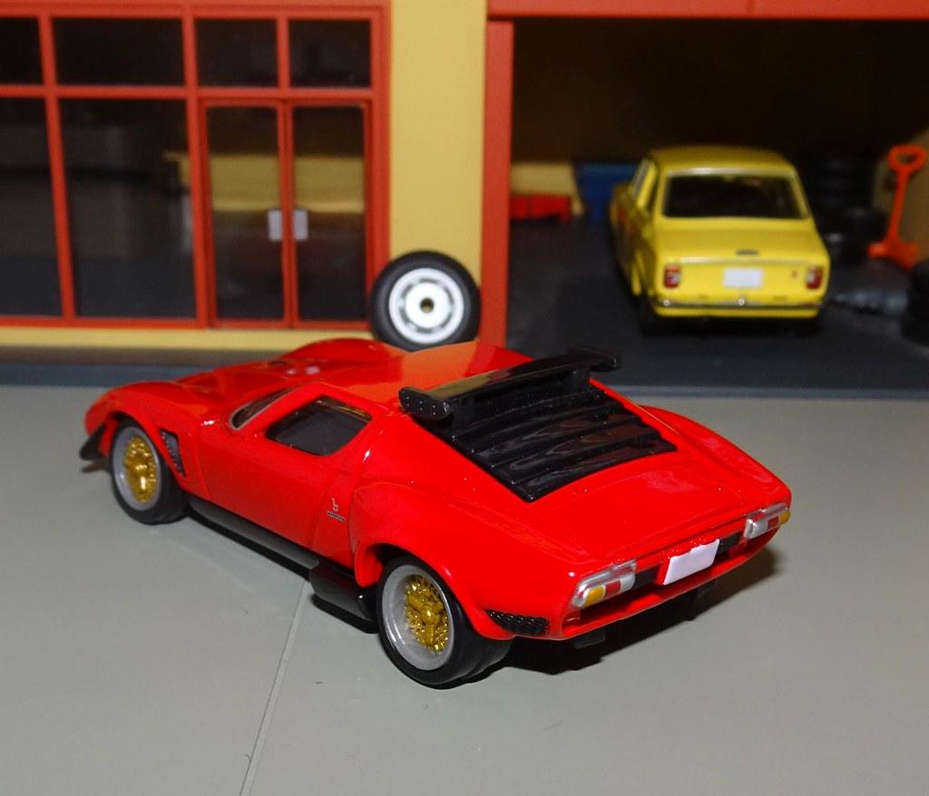 Tomica Premium 05 Lamborghini Miura Jota Svr Jarrod Flickr