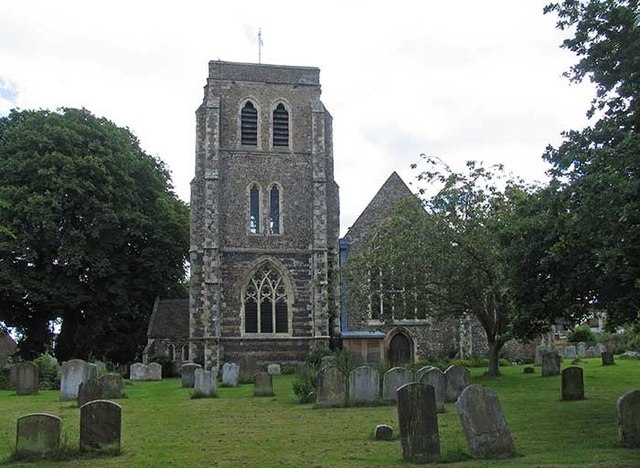 Kent, HERNE, St Martin in Herne (Creative Commons John Salmon)