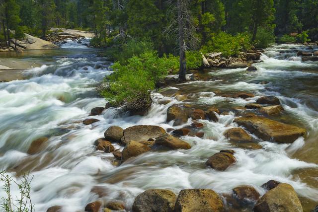 Yosemite Above the Falls