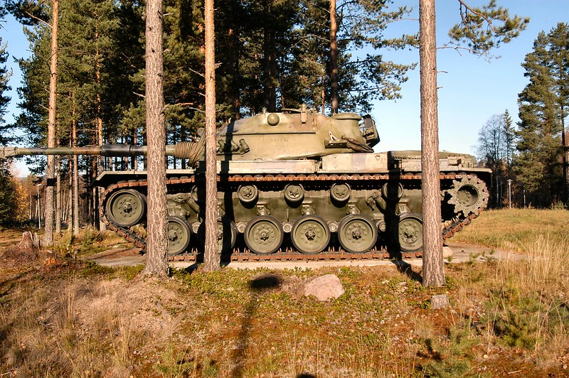 M48A5 Norwegian  2