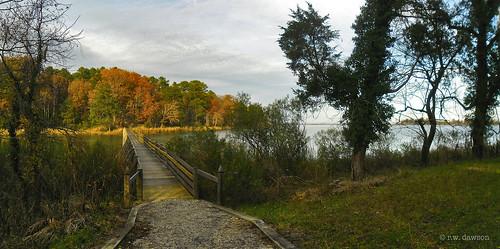popescreekplantation georgewashingtonsbirthplace westmorelandcounty virginia va park historic waterway walkway popescreek trail path autumn landscape