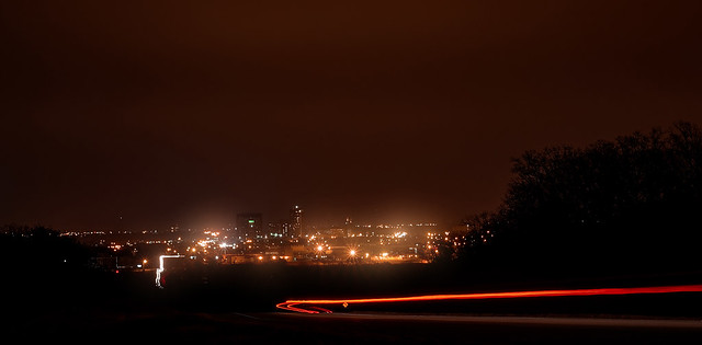 city lights- 25 second exposure