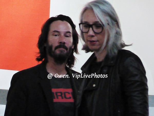 Keanu Reeves et Alexandra Gran...