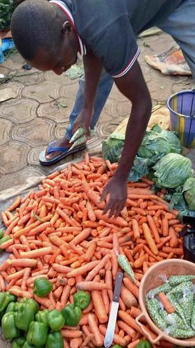 producevendor dutsemarket dutse abuja nigeria jujufilms carrots peppers cabbage