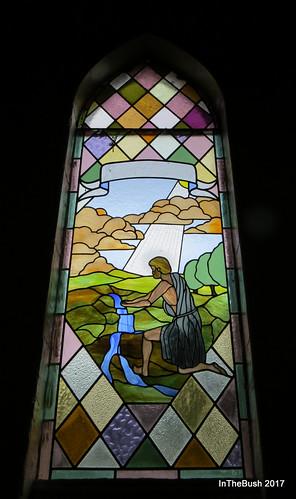 window stainedglass marradong church