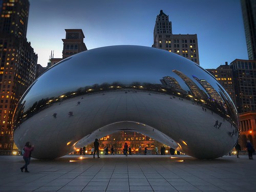 The Bean - Chicago, IL | by vwcampin