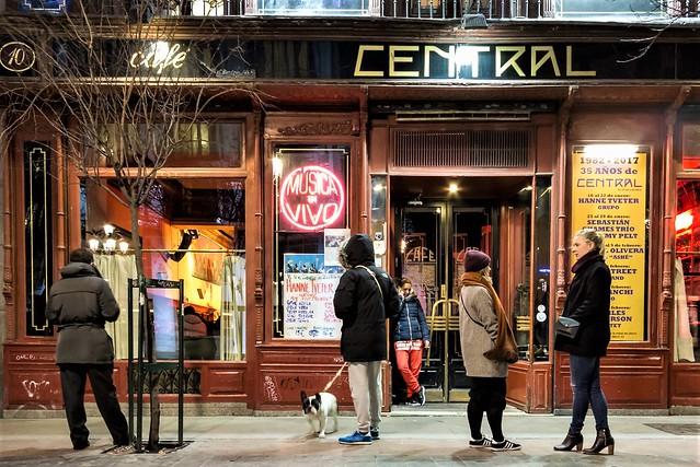 Café Central, jazz-café.
