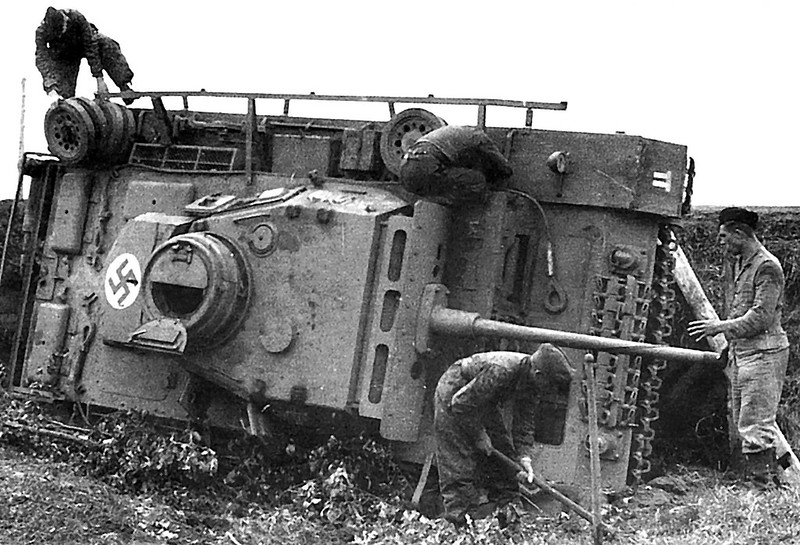 Panzer iii på side