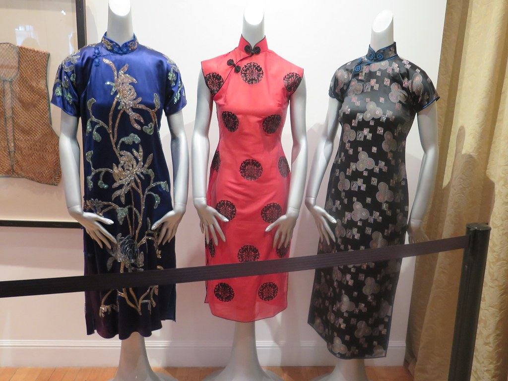 Three Qipaos -- Evolution of the Qipao II at Chinese Historical Society of America