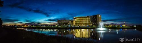 commercial hospital ky kentucky ohrh omhs owensboro sunset architecture healthregional medicalhealthsystem onehealth pano panorama panoramic twilight