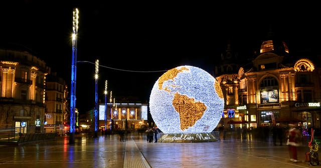Montpellier, illuminations 2016
