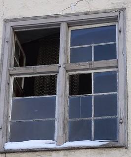 Fenster Bad Waldsee Klosterhof um 1800