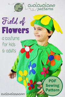 Field of Flowers costume for kids & adults