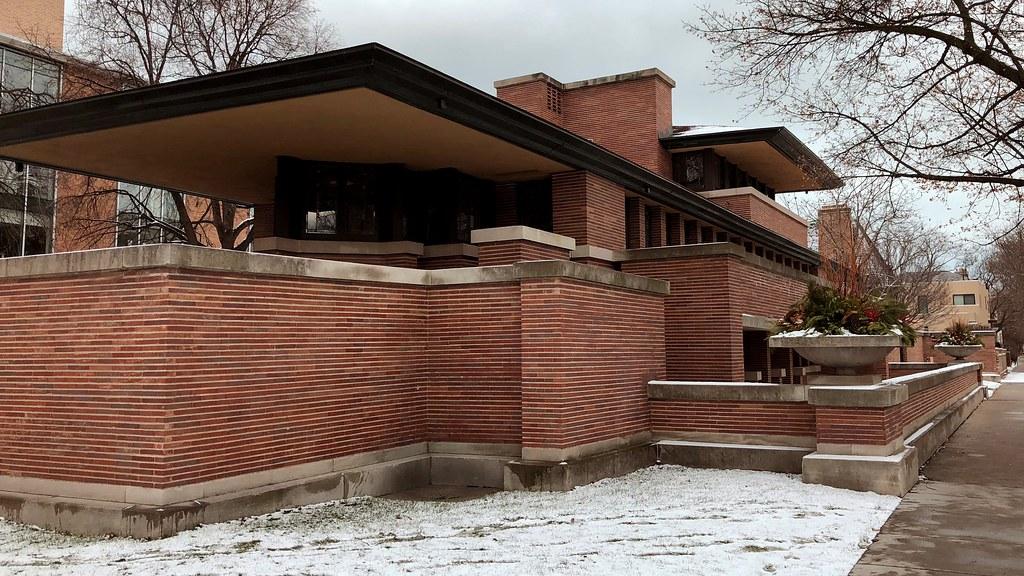 Genieße den reduzierten Preis Designermode bieten viel Robie House, Frank Lloyd Wright en.wikipedia.org/wiki/Rob ...