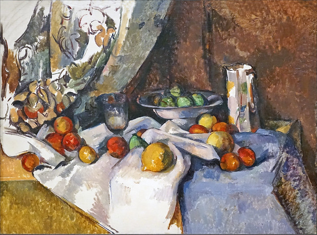 Nature morte aux pommes de Paul Cézanne (Fondation Louis Vuitton, Paris)