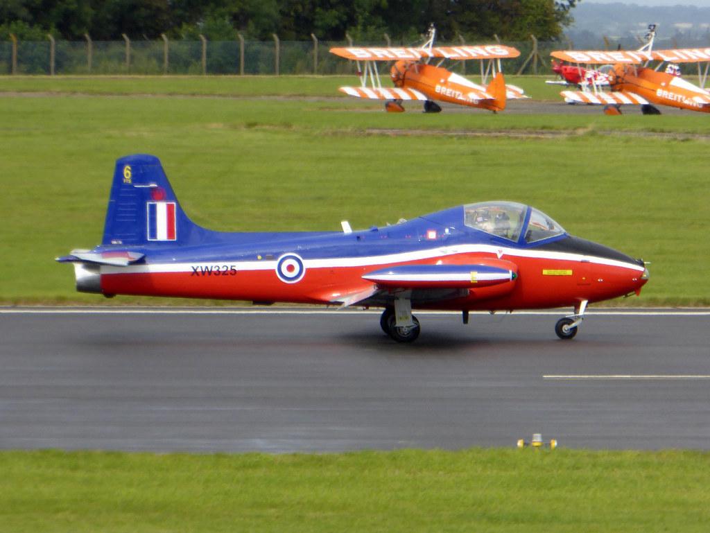 G-BWGF / XW325 BAC Jet Provost T5 cn EEP/JP/0989 RAF Scampton 09Sep17