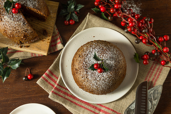 Sweet Homemade Christmas Figgy Pudding