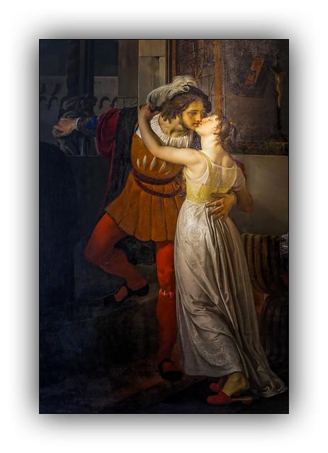 L'adieu de Roméo et Juliette - 1823 (Francesco Hayez)