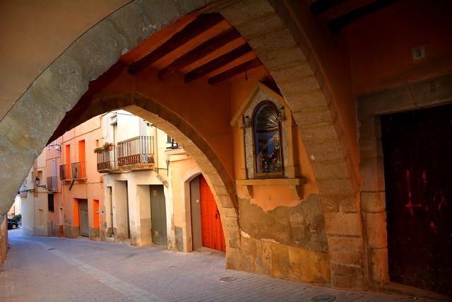 Volta medieval de Ca Llorens, Vallmoll.