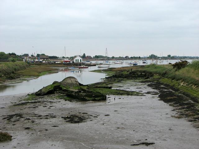 Marshes at Heybridge