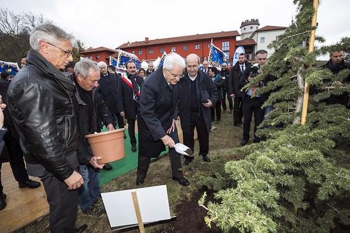 Sergio Mattarella inaugura l'Arsenale dell'Armonia