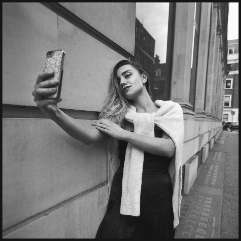 Hasselblad SWC/M Selfie!