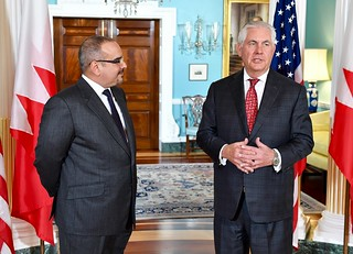Secretary Tillerson Addresses Reporters in Washington