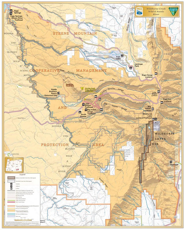 Wild Horse Creek Wild and Scenic River