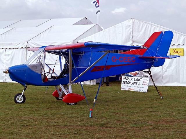 G-CEEC   Raj Hamsa X'Air Hawk [PFA 340-14559] Kemble~G 19/08/2006