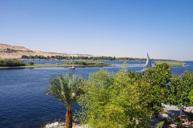 Rio Nilo - Asswan - Egito