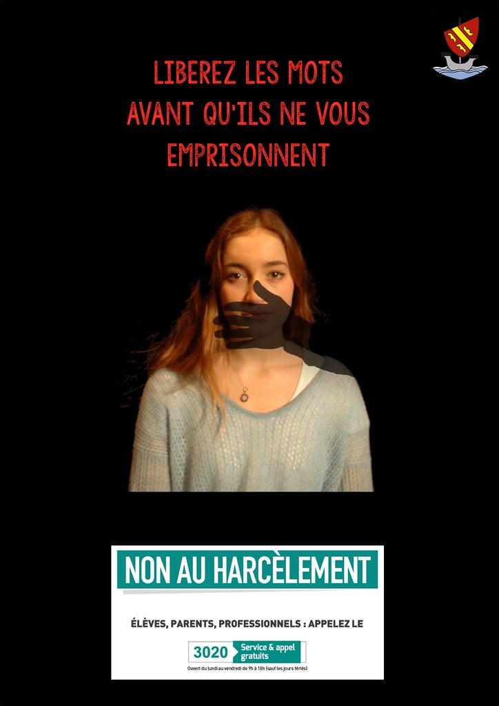 Affiche NonAuHarcèlement