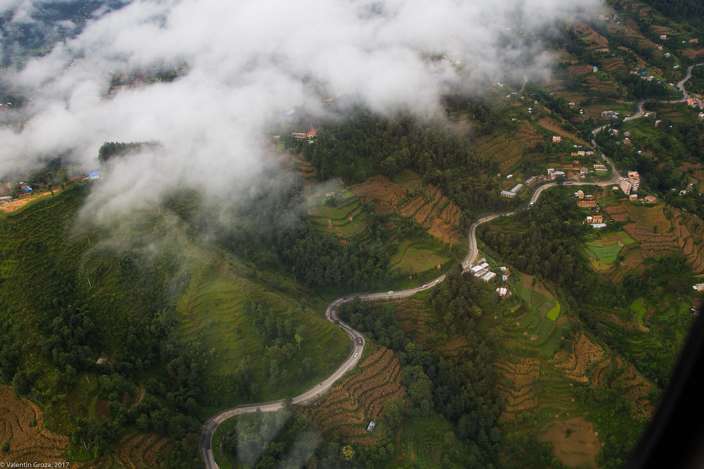 helicopter to Lukla 01