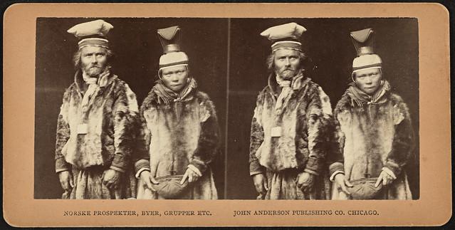 Samisk brudepar