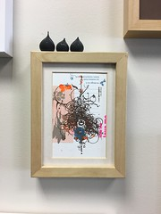 Building the art wall at office