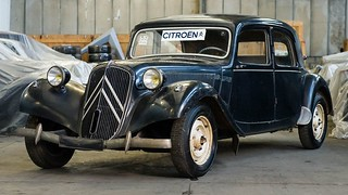 citroen traction avant | by automedia_mk