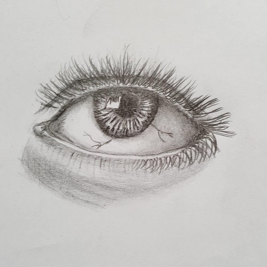 Eye pencil drawing by dorofofoto eye pencil drawing by dorofofoto