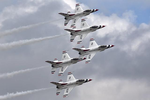 USAF Thunderbirds at RIAT