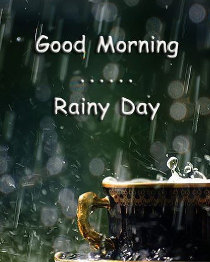Its Saturdaygood Morning Rainy Day Itssaturday Flickr
