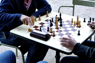 Chess players | by Yorgos Kourtakis