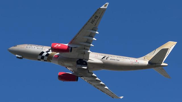 LHR - Gulf Air Airbus 330-200 A9C-KB