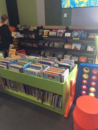 Childrens area, Ōrauwhata: Bishopdale Library and Community Centre