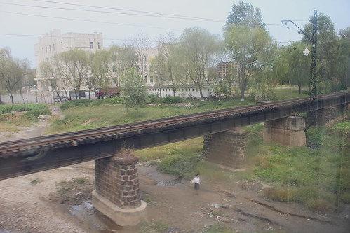 Railway bridge in Chongju | by Timon91