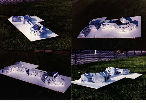 Model from the project in Voisins le Bretonneux