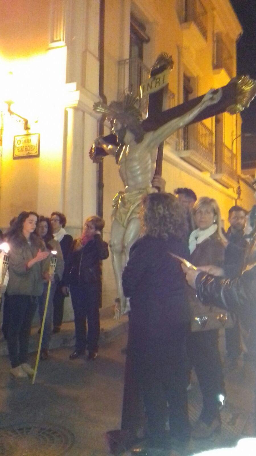 (2017-04-07) VIII Vía crucis nocturno -  Sergio Pérez (07)