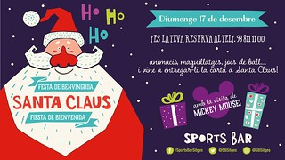 Papa Noel a Sports Bar Sitges 2017 | by Sitges - Visit Sitges
