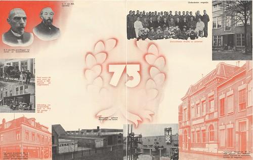 Folder 75-jarig bestaan firma C.F. van Mill 1861-1936
