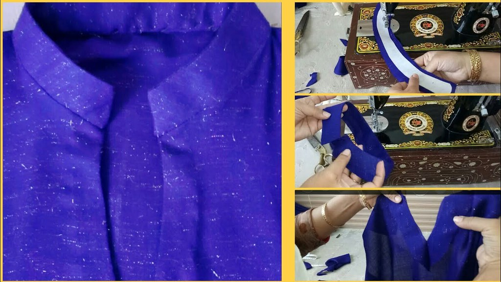 350e220d7e9ddd ... Latest Kurti Collar Neck Design Cutting And Stitching Step By Step 2017  -Simple & Easy